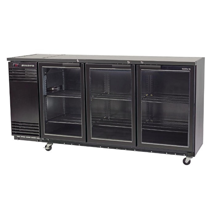 Skope 580L Back Bar Cooler with Three Hinged Doors BB580X