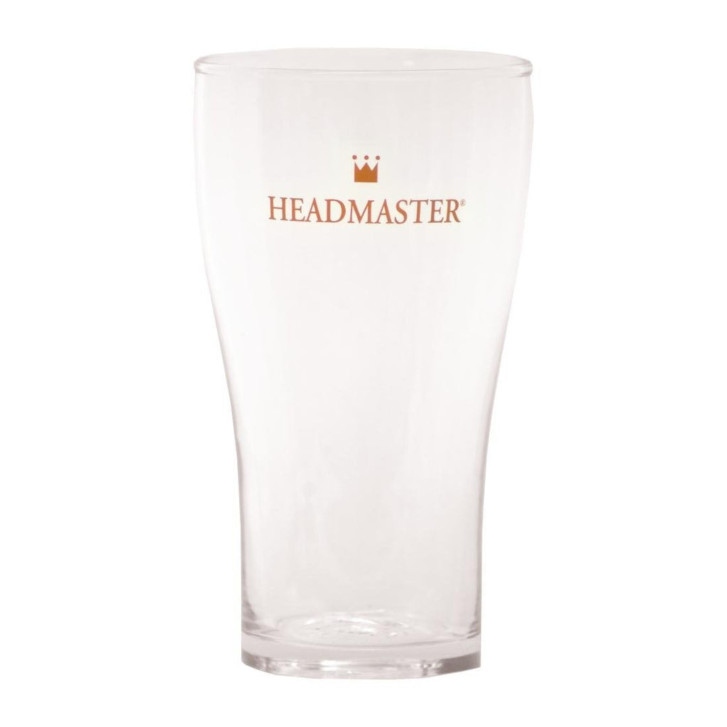 48PCE Crown Headmaster Conical Beer Glass 425ml