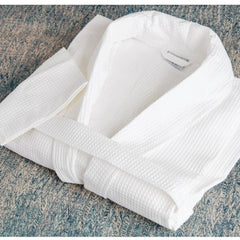Mitre Comfort Langley Bathrobe White Extra Large - icegroup hospitality superstore
