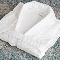 Mitre Comfort Langley Bathrobe White Large - icegroup hospitality superstore