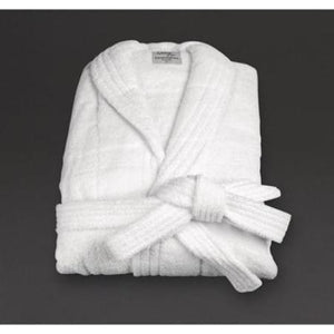 Mitre Comfort Sandringham Bathrobe White Large