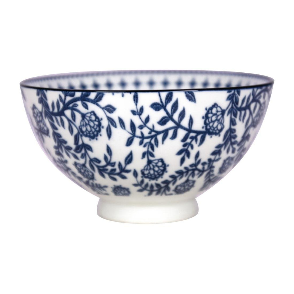 6PCE Gusta Out Of The Blue Stars Round Bowl Blue 135mm