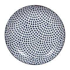 Gusta Out Of The Blue Drops Flared Round Bowl 215mm - icegroup hospitality superstore