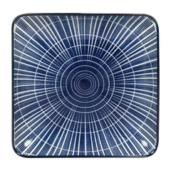 6PCE Gusta Out Of The Blue Sun Square Plate 125 x 125mm - ICE Group