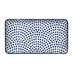 Gusta Out Of The Blue Drops Rectangular Plate 225mm - icegroup hospitality superstore