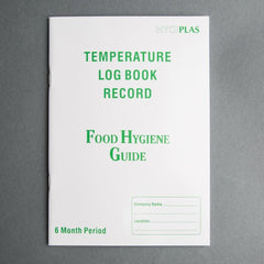 Temperature Log Book - icegroup hospitality superstore
