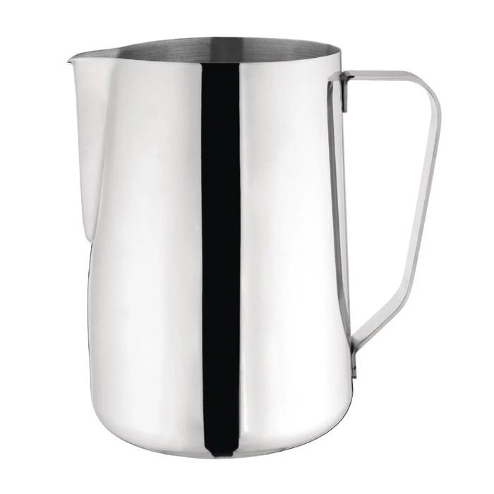 Olympia Milk Jug Stainless Steel 1.35Ltr - ICE Group