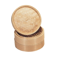 Vogue Bamboo Food Steamer 152mm - ICE Group
