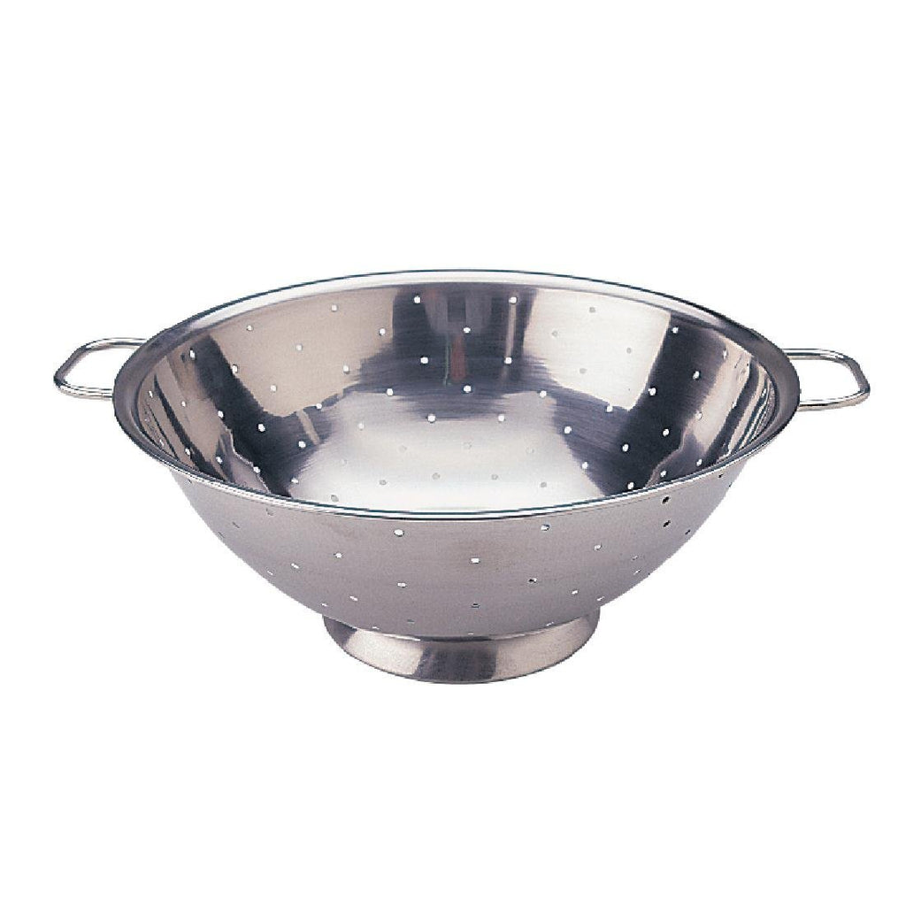 Vogue Stainless Steel Colander 12 - ICE Group