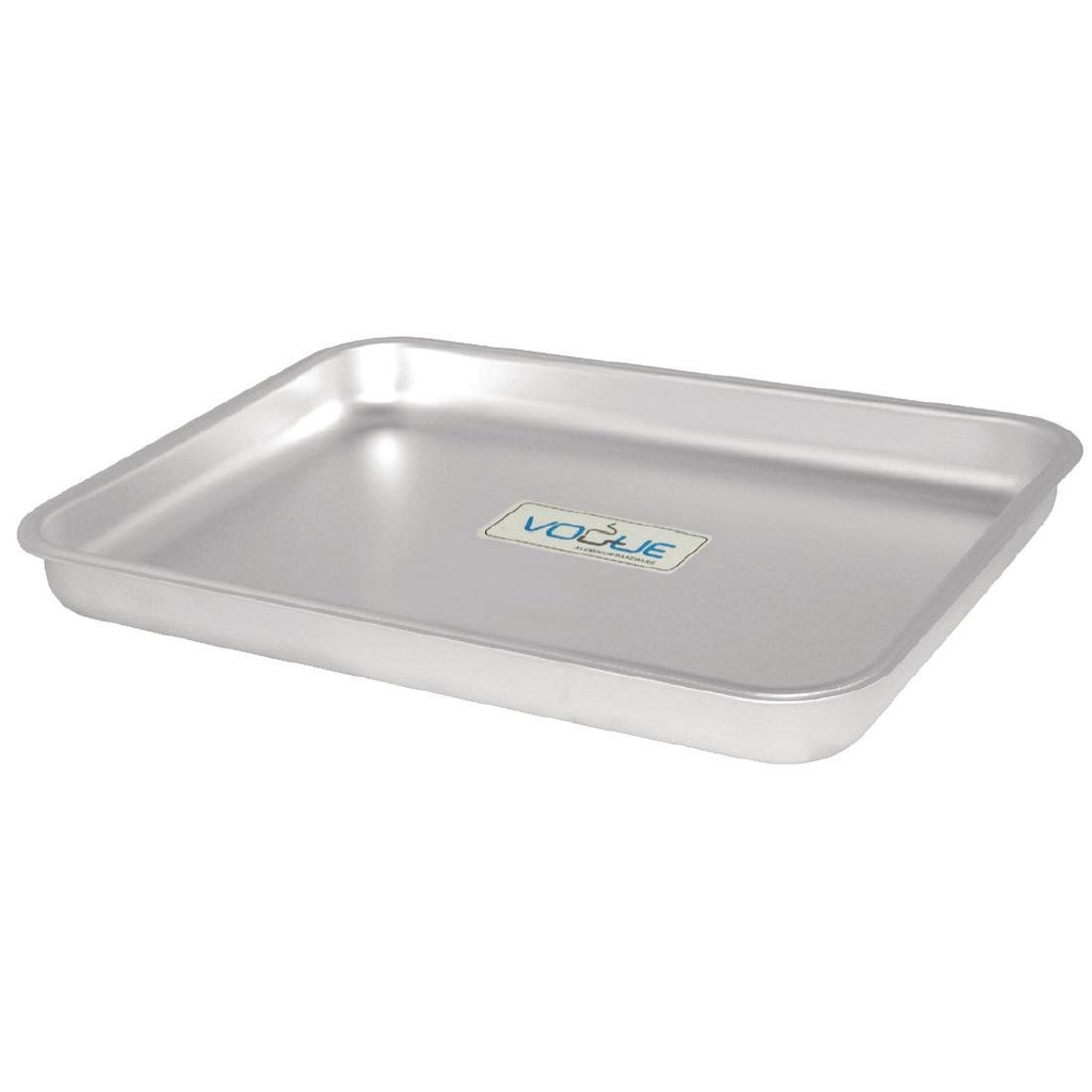 Vogue Aluminium Bakewell Pan 370mm