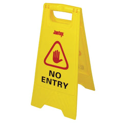Jantex No Entry Safety Sign - icegroup hospitality superstore