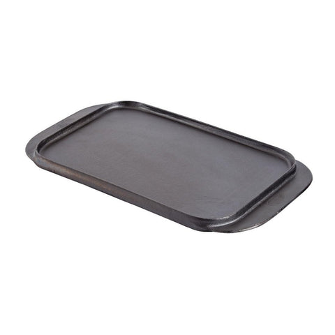 Vogue Reversible Cast Iron Double Griddle Pan
