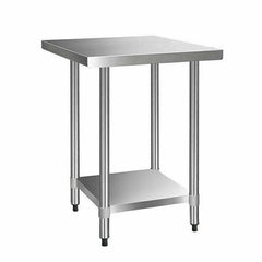 Cefito 762 x 762mm Stainless Steel Bench