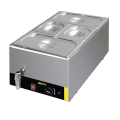 Apuro Bain Marie with Tap and Pans - icegroup hospitality superstore