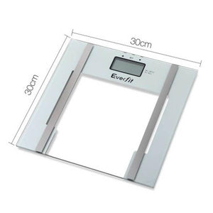 Everfit Electronic Digital Body Fat & Hydration Scale White