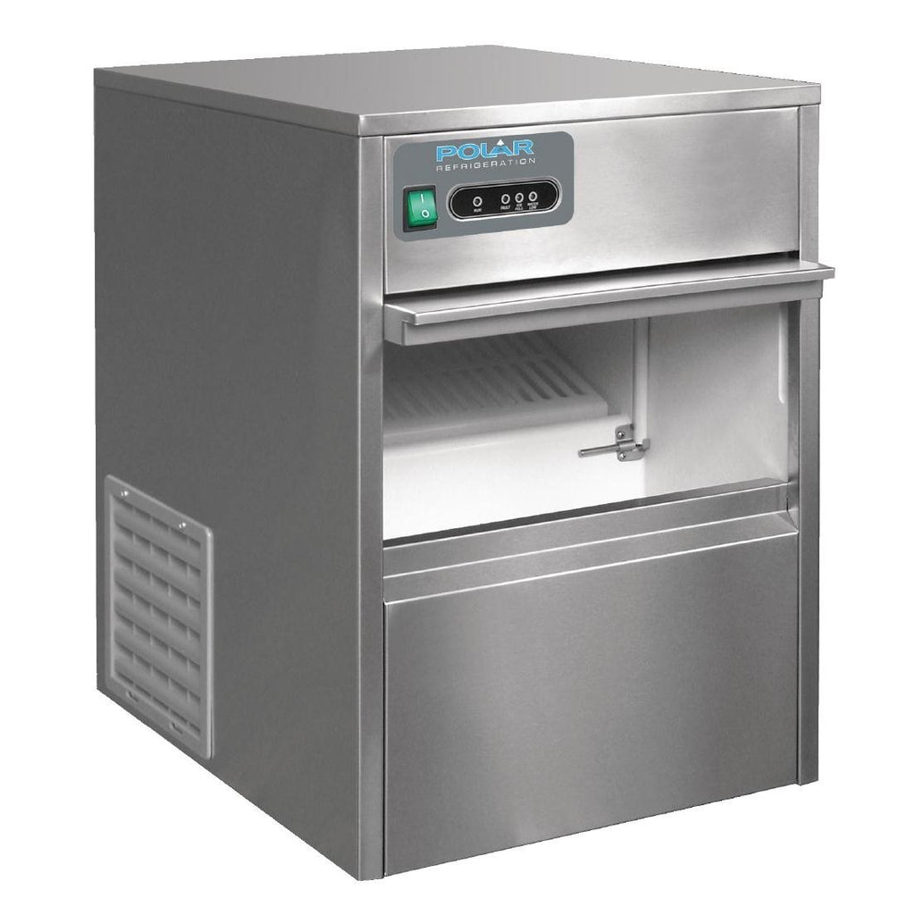 Polar Under Counter Bullet Ice Maker 20kg Output