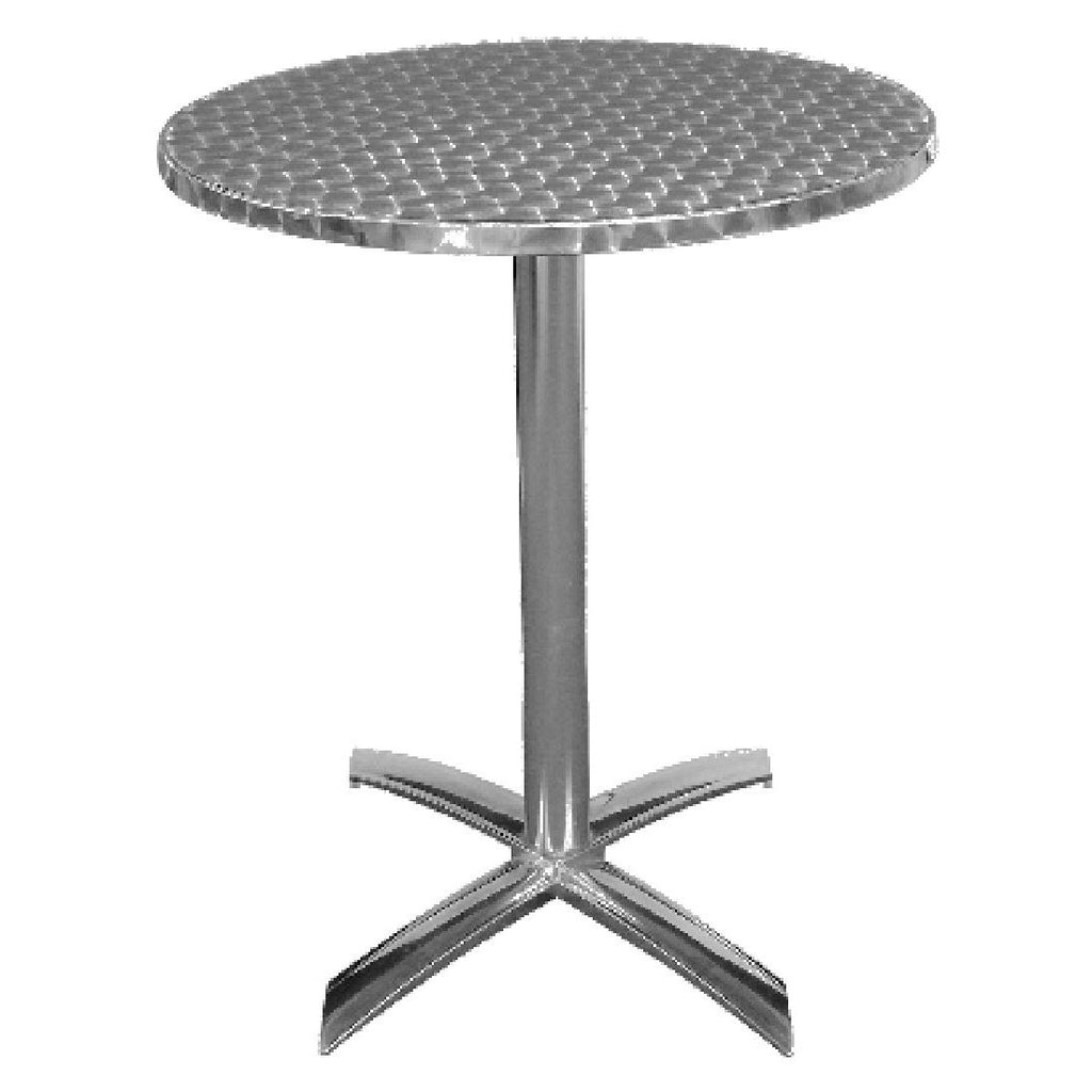 Bolero Flip-Top Table Stainless Steel 600mm