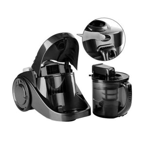 Bagless Cyclone Vacuum Cleaner HEPA Black