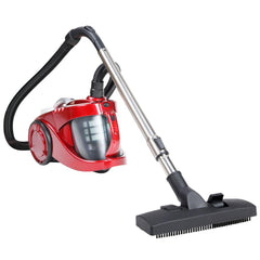 Bagless Cyclone Cyclonic Vacuum Cleaner HEPA Red