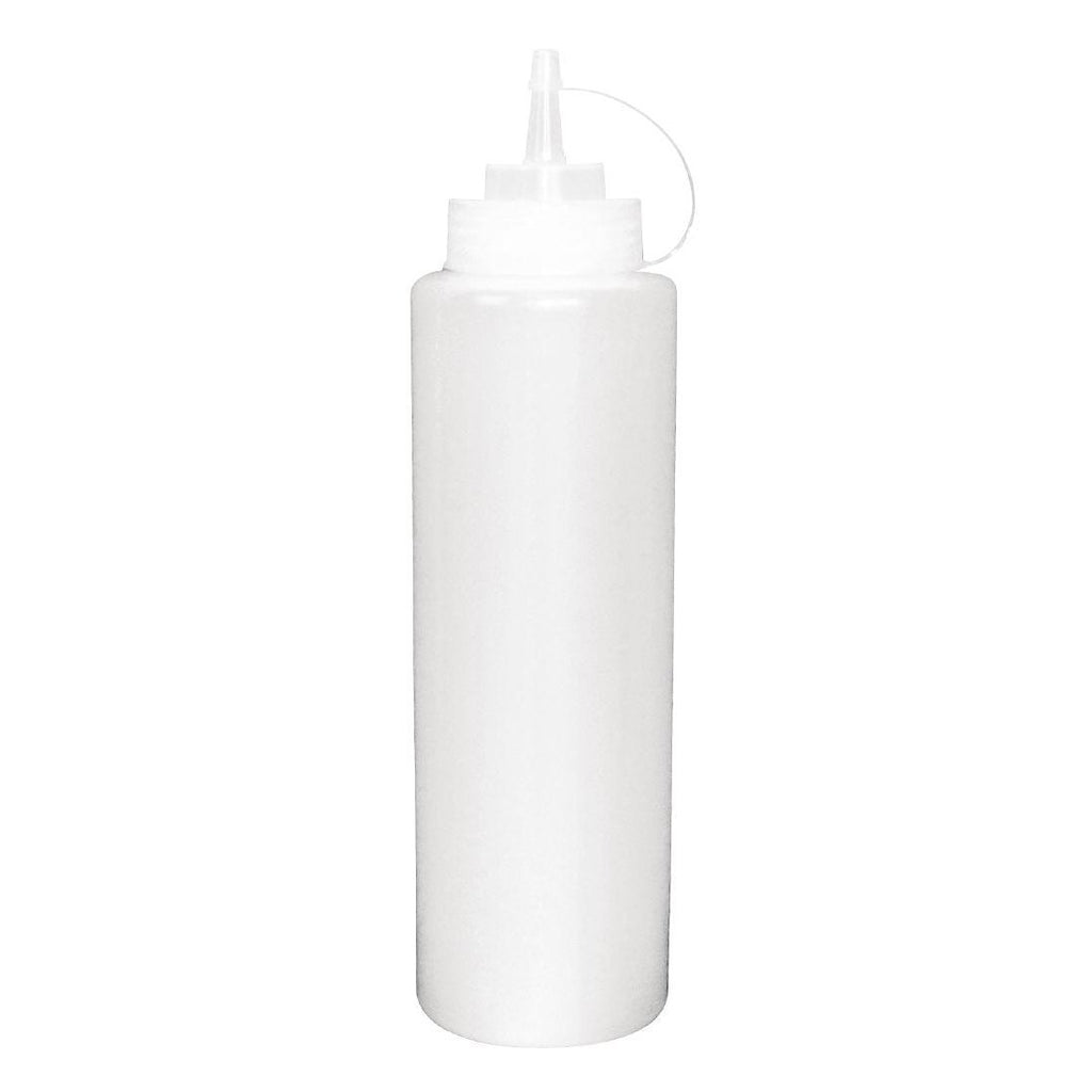 Vogue Clear Squeeze 681ml Sauce Bottle