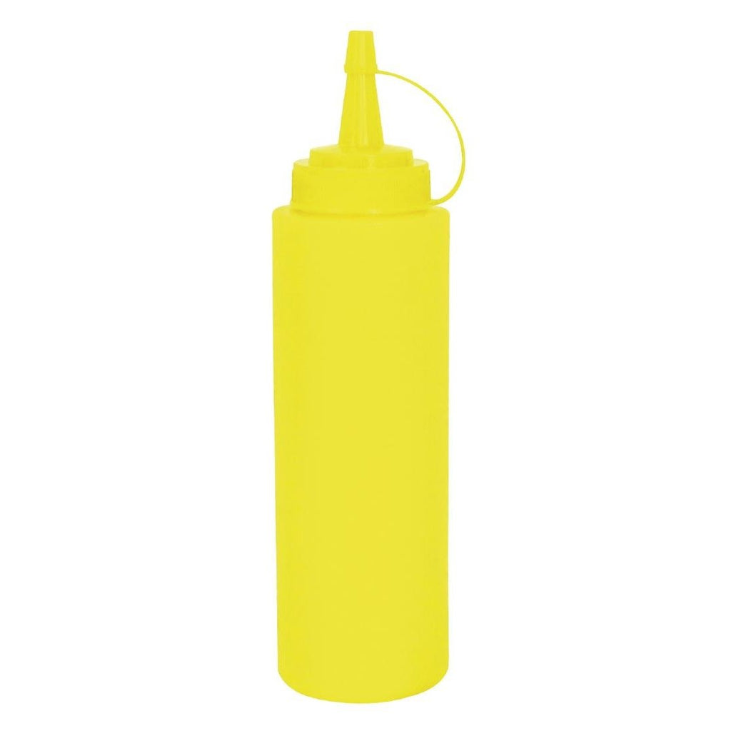 Vogue Yellow Squeeze Sauce Bottle 994ml - ICE Group