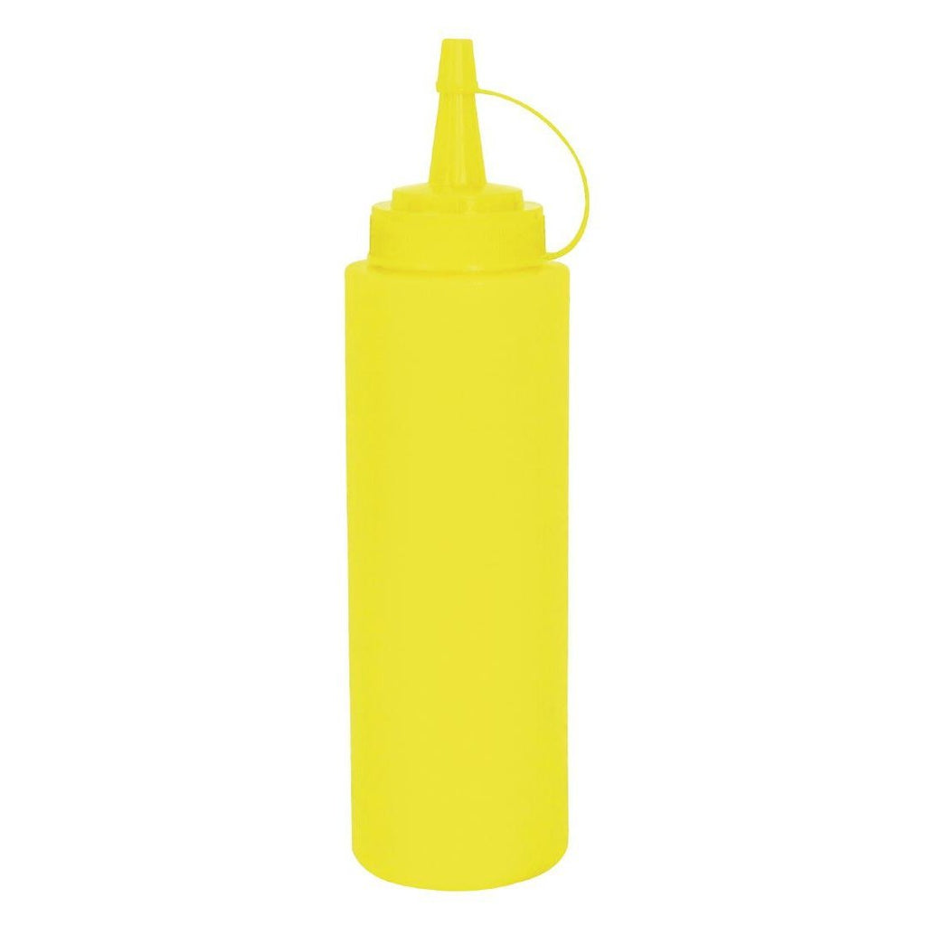 Vogue Yellow Squeeze Sauce Bottle 227ml