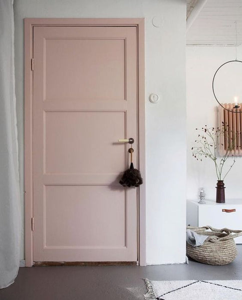 porte rose appartement