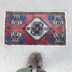 Alev | Small Turkish Oushak Rug
