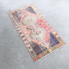 Sena | Vintage Bohemian Pink and Yellow Rug