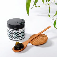 Moroccan Black Soap - Argan Oil and Eucalyptus (200 ml)