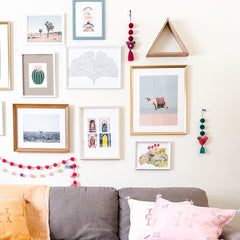 Mexican Pom Pom Garland - Multicolored