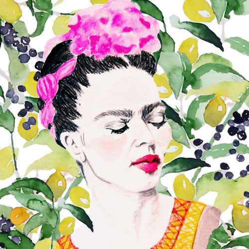 Affiche Frida dans la jungle Carly Martin