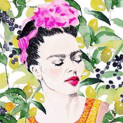 FRIDA KALHO IN THE JUNGLE PRINT