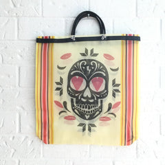 Reusable Mexican Sugar Skull Bag