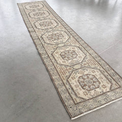 Uzun | Off-White Runner Rug