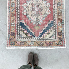 Damla | Vintage Hallway/Kitchen Runner