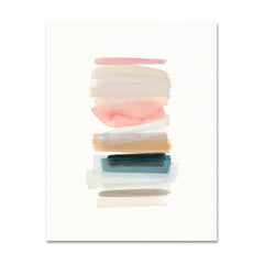 Watercolor Art Print - August