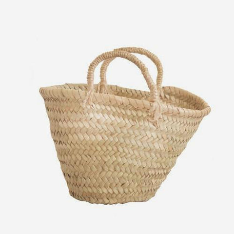 Mini Wicker Moroccan Basket