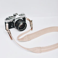 ROSEGOLD LEATHER CAMERA STRAP