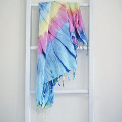 Turkish Towel Rainbow - Tye Die