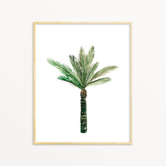 Watercolor Art Print - Palm Tree No.3