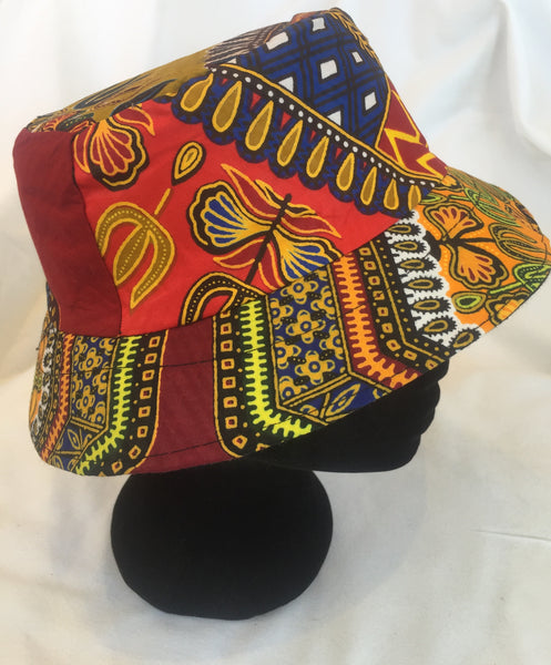 Fatou Bucket Hat - Patchwork