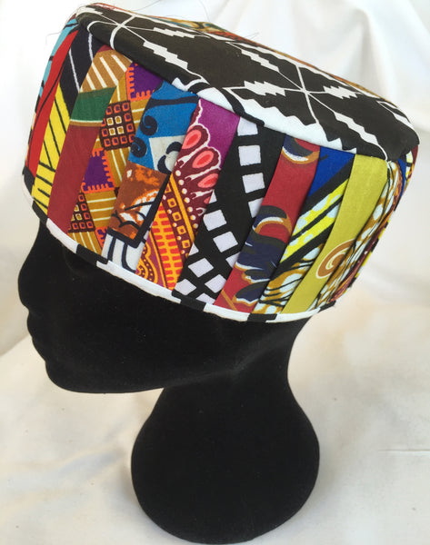 Fatou Hat - Patchwork