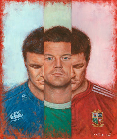 Brian O'Driscoll In III - canvas print