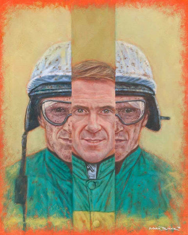 AP McCoy In III painting