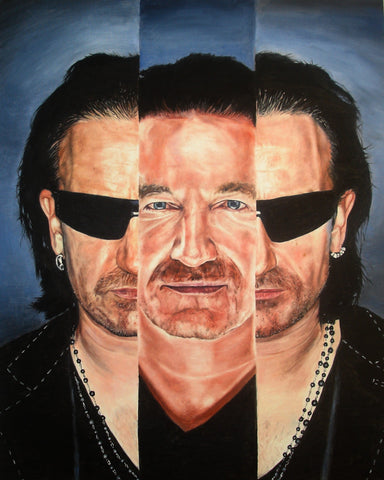 Bono in III – canvas print