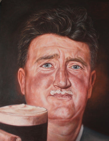 Brendan Behan – canvas print