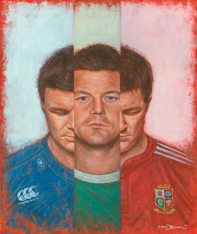 Brian O'Driscoll In III painting