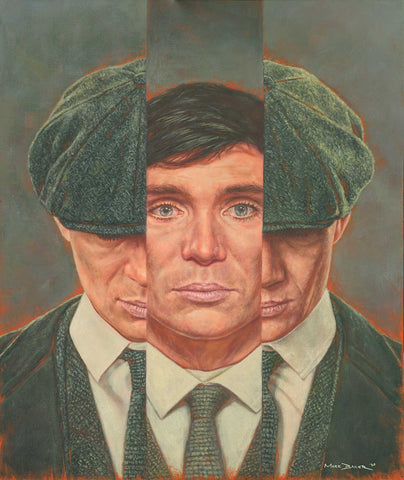 Peaky Blinders: Cillian Murphy as Thomas Shelby painting