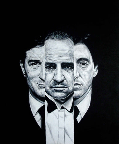 Godfather in III – canvas print